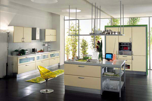 Ideias para decora��o da cozinha usando flores