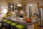 Cozinhas de cor verde