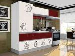 Decorar a cozinha com adesivos