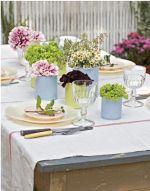 Como decorar a cozinha com flores